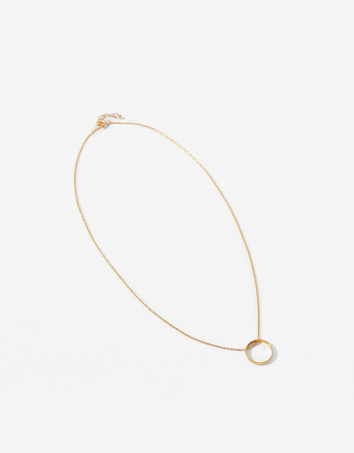 Gold-Plated Circle of Life Necklace, , large