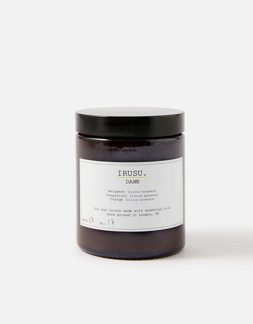 IRUSU® Soy Wax Candle , Black (BLACK/WHITE), large
