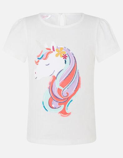 Girls Unicorn T-Shirt Multi, Multi (BRIGHTS-MULTI), large