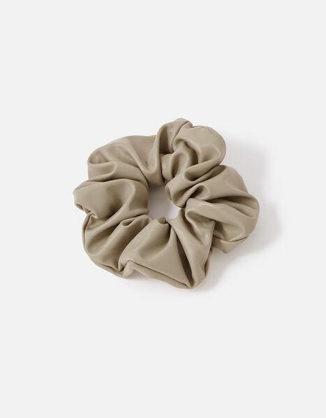 Large PU Scrunchie, , large