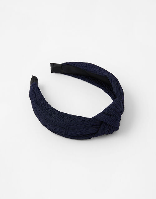 Crinkle Knot Headband, , large
