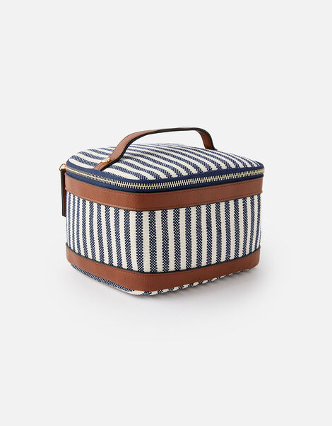 Square Lunch Box  Blue, Blue (NAVY), large