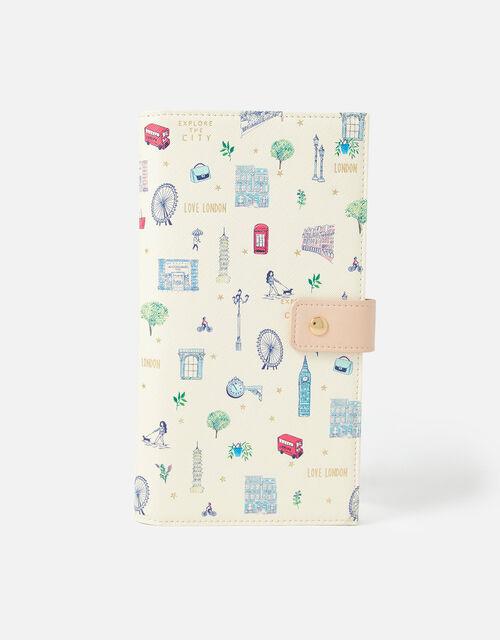 All Over London Print Document Holder, , large