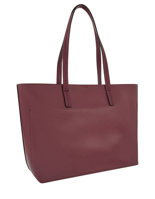 Ali Tote Bag, Red (BURGUNDY), large