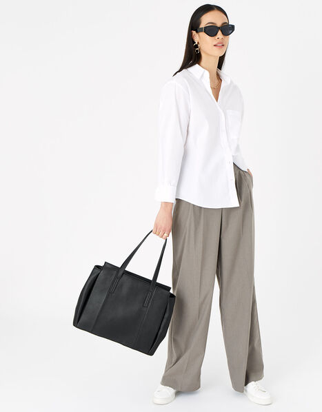 Lauren Work Bag Black, Black (BLACK), large
