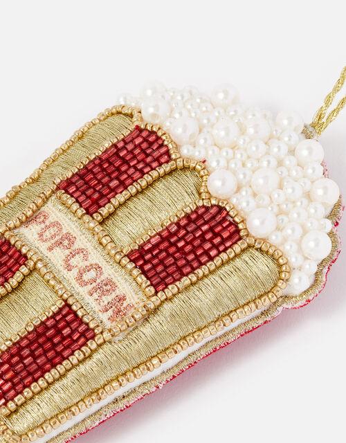 Embellished Popcorn Hanging Decoration, , large