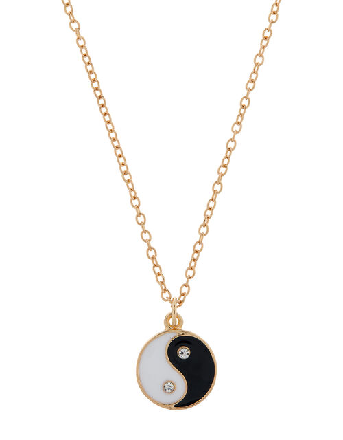 Yin Yang Pendant Necklace, , large