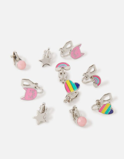 Cool Cats Clip-On Earrings , , large