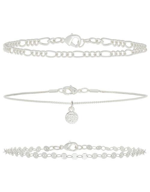 Disc Choker Necklace Set, , large