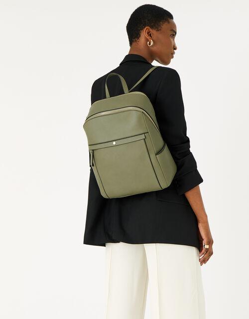Sammy Backpack , Green (KHAKI), large