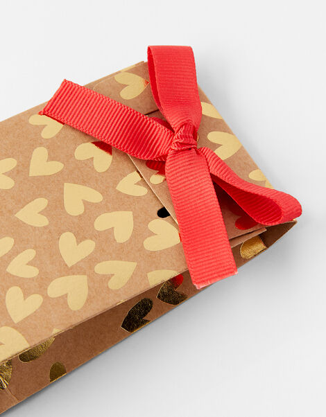 Foil Heart Gift Pouch, , large