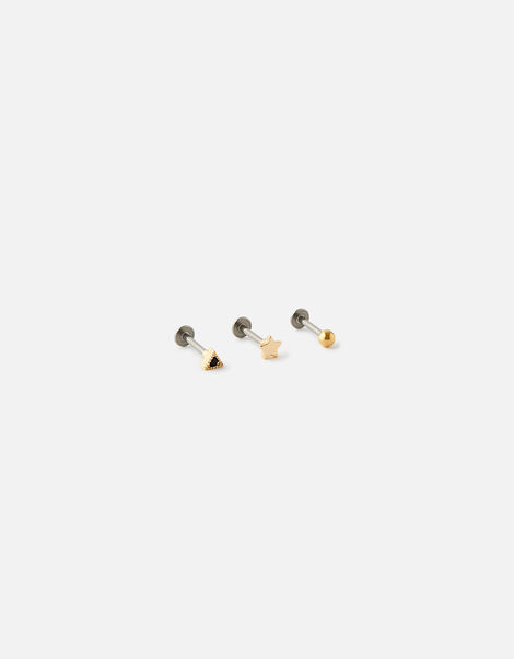 Mix Shape Flat-Back Stud Set, , large