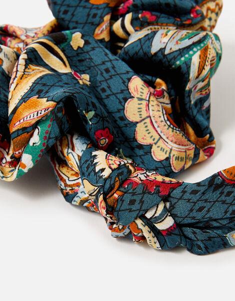 Opulent Paisley Scrunchie and Headband , , large