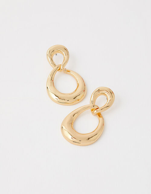 Twisted Infinity Drop Earrings, , large