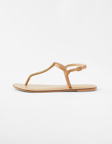 Coloured Gem Sandals Metalic, Metalic (METALLICS), large