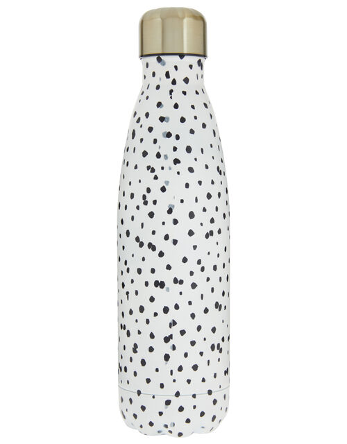 Spotty Double-Walled Metal Water Bottle, , large