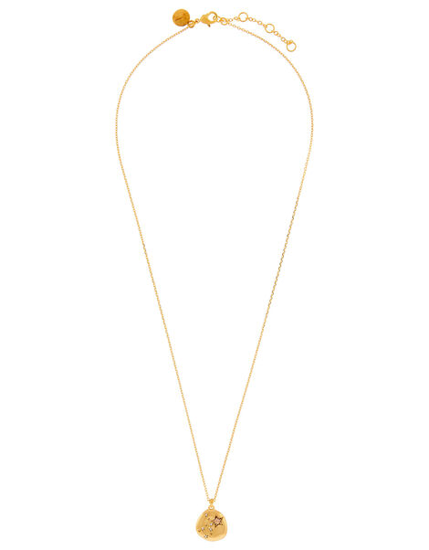 Gold-Plated Opal Zodiac Necklace - Virgo, , large