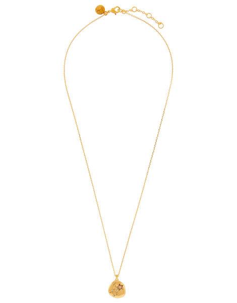 Gold-Plated Opal Zodiac Necklace - Virgo, , large