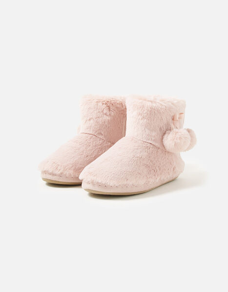Super-Soft Slipper Boots Pink, Pink (PINK), large