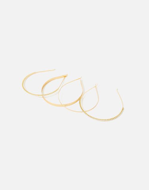 Thin Layering Metal Headbands, , large