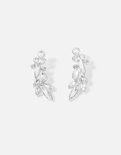 Berry Blush Crystal Earrings, , large