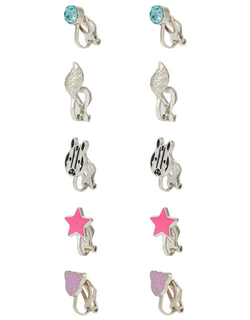 Wild Jungle Clip-On Earring Set, , large