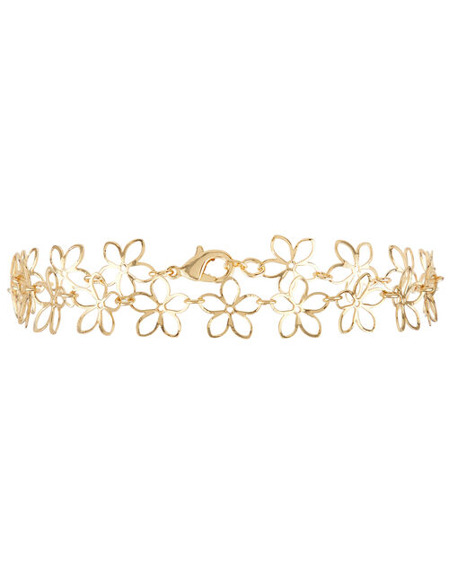 Flower Anklet, , large