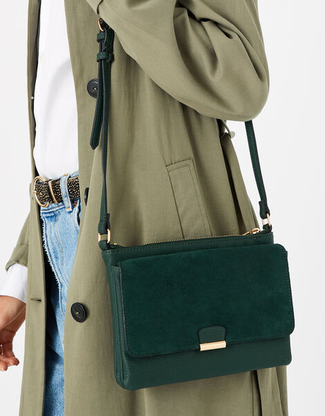 Cassie Cross-Body Bag  Green, Green (GREEN), large