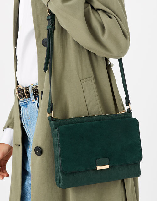 Cassie Cross-Body Bag , Green (GREEN), large