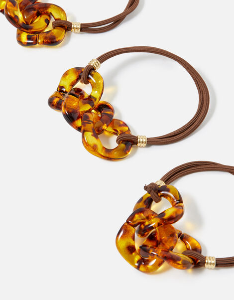 Tortoise Chain Hairband Multipack , , large