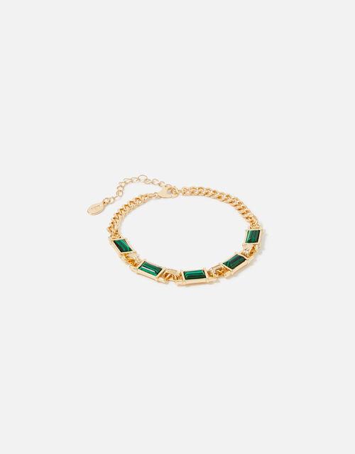 Reconnected Rectangle Stone Bracelet, , large