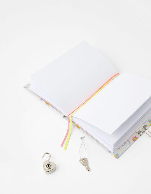 Unicorn Lockable Journal, , large