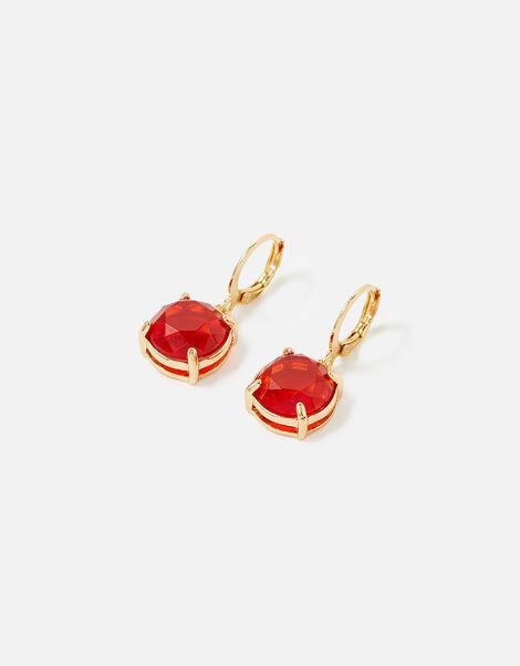Reconnected Gem Hoop Earrings, , large