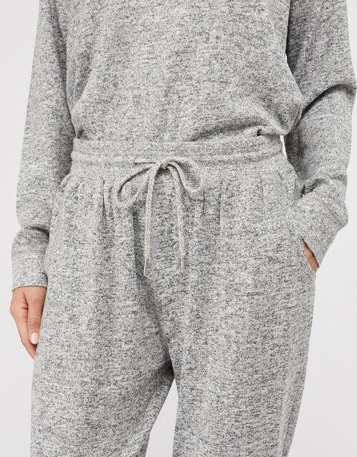 Grey Marl Joggers, Grey (GREY), large