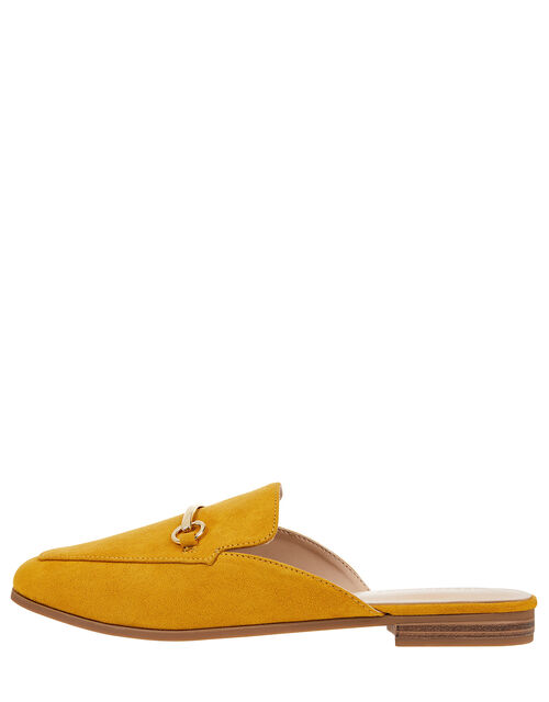 Backless Loafers, Yellow (YELLOW), large