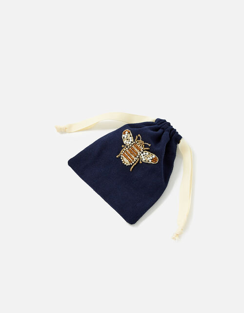 Bee Silk Eye Mask and Scrunchie Set WWF Collaboration, , large