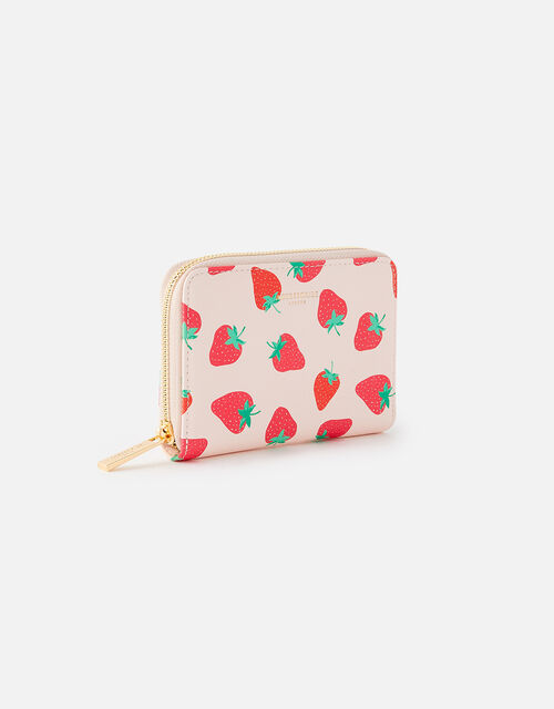 Strawberry Print Wallet , , large