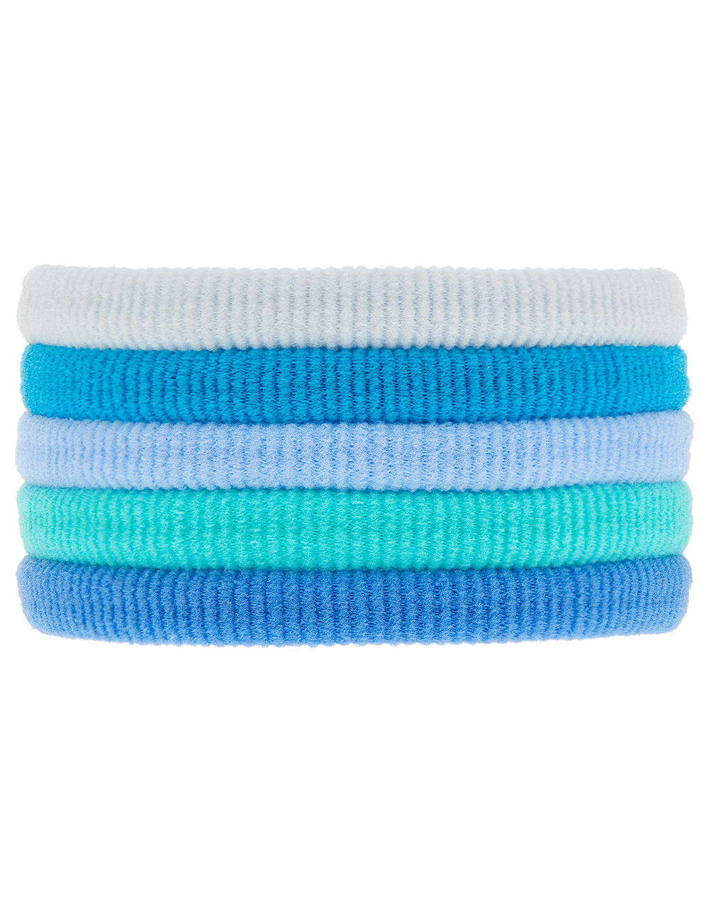 Thick Towelling Hair Band Multipack, , large