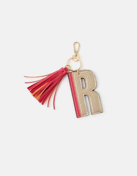 Letter Keyring - R, , large