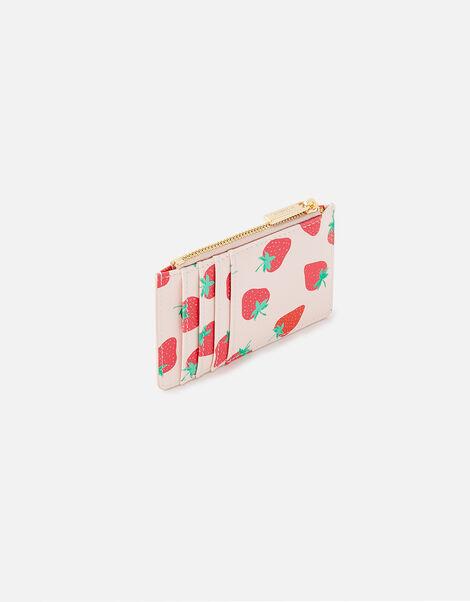 Strawberry Print Cardholder , , large