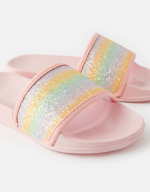 Rainbow Glitter Sliders, Multi (BRIGHTS-MULTI), large