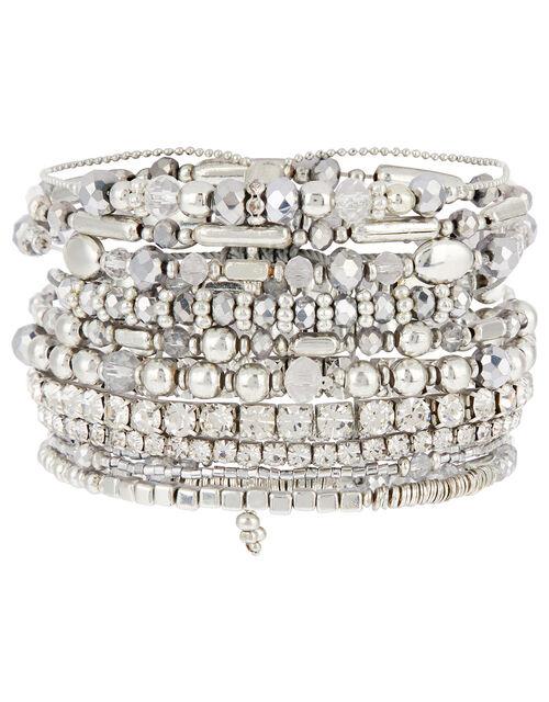Glamazon Sparkle Stretch Bracelet Set, , large
