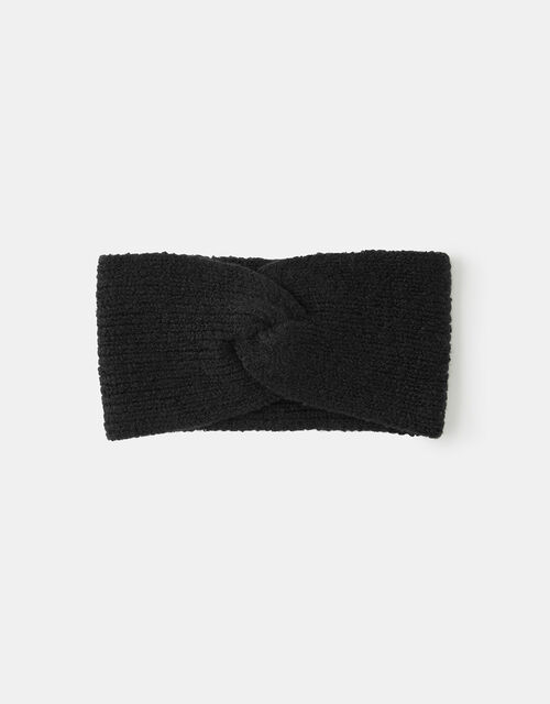 Soft Knit Bando, Black (BLACK), large