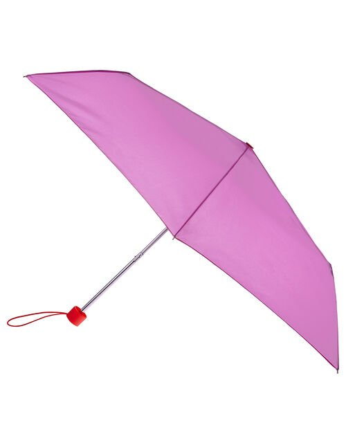 Colour Block Umbrella, Purple (LILAC), large