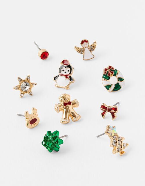 Christmas Stud Earring Multipack, , large