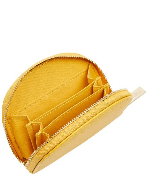 Crescent Coin Purse, Yellow (YELLOW), large