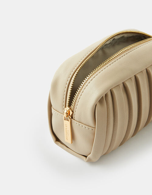 Pleated Makeup Bag, , large