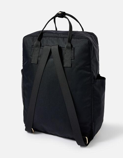 Frida Canvas Backpack , Black (BLACK), large