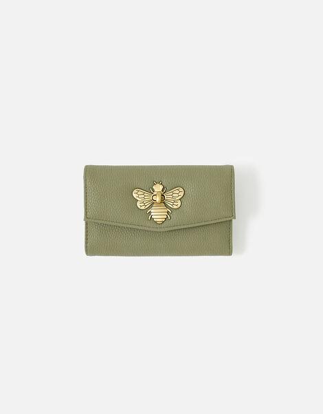 Britney Bee Wallet Green, Green (KHAKI), large