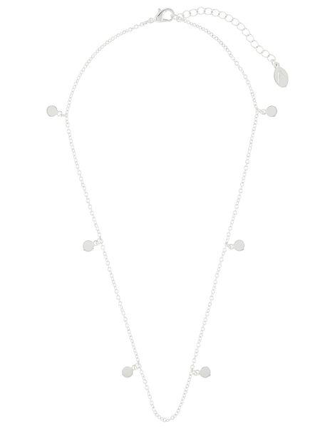 Discy Chain Pendant Necklace, , large